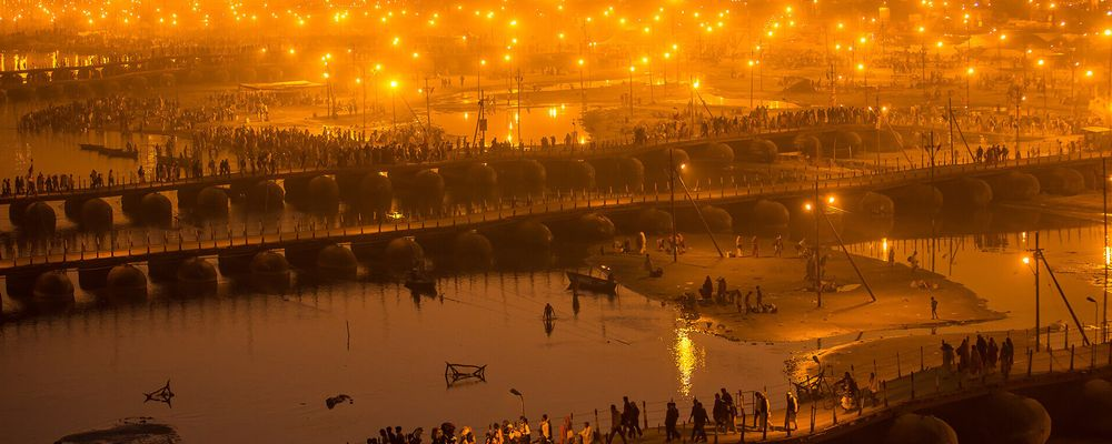 Kumbh Mela View - ESPI Travels
