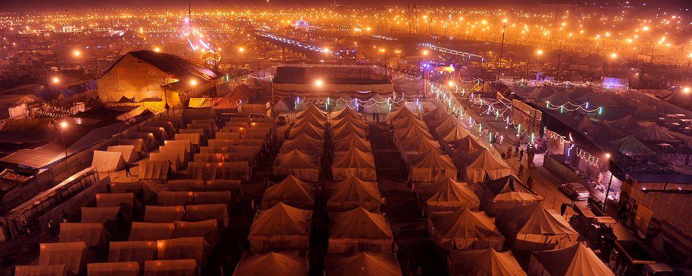 Kumbh Mela Tent - ESPI Travels